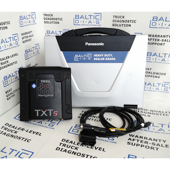TEXA TRUCK DIAGNOSTICS | NAVIGATOR TXTS | IDC5 WITH BALTICDIAG LAPTOP
