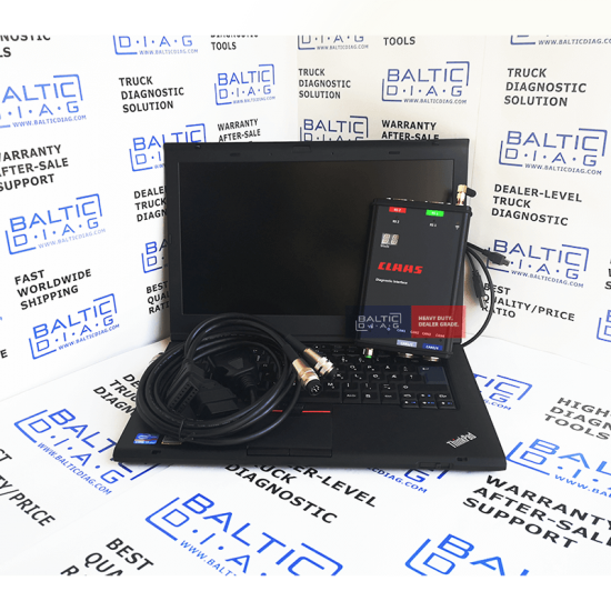 NEW CLAAS DIAGNOSTIC TOOL 4 CAN / WIFI (LAPTOP + REMOTE SUPPORT)