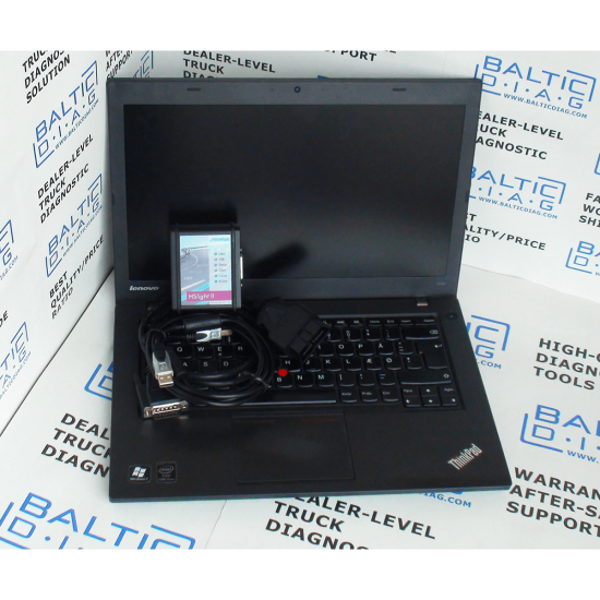 FORD CARGO DIAGNOSTIC TOOL HS LIGHT 2 (LAPTOP INCL.)