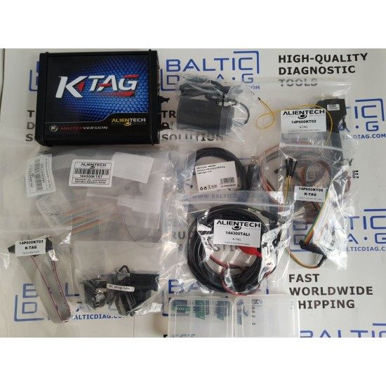 ALIENTECH K-TAG MASTER | GENUINE INTERFACE PACK