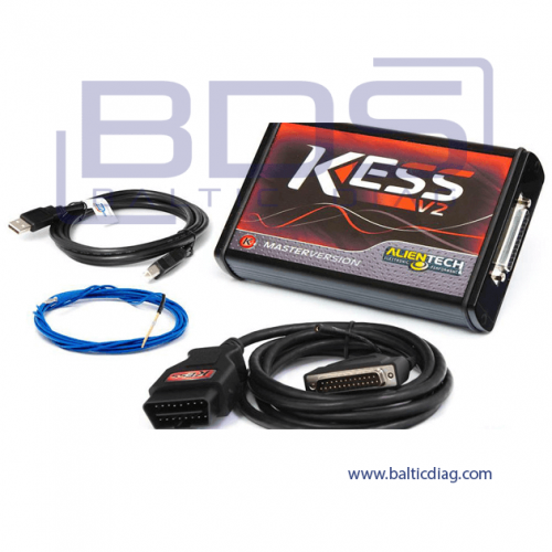 ALIENTECH KESS V2 MASTER WITH TRUCK OBD PROTOCOLS PACK