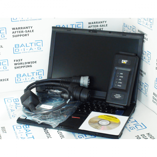 CATERPILLAR DIAGNOSTIC SOLUTION (LAPTOP INCL.)