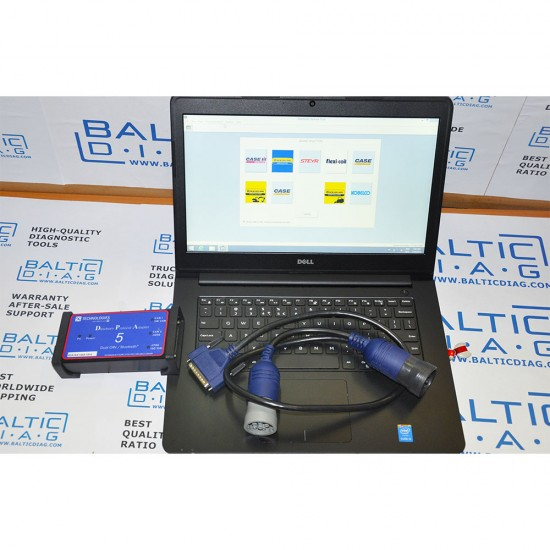 CNH ELECTRONIC SERVICE TOOL DPA5 (LAPTOP INCL.)