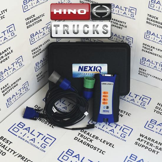 HINO TRUCK AND BUS DIAGNOSTIC TOOL | DX2 | DIAGNOSTIC EXPLORER (LAPTOP INCL.)