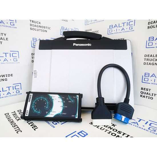 IVECO ELTRAC DIAGNOSTIC SCANNER 2019 EDITION (LAPTOP INCL.)