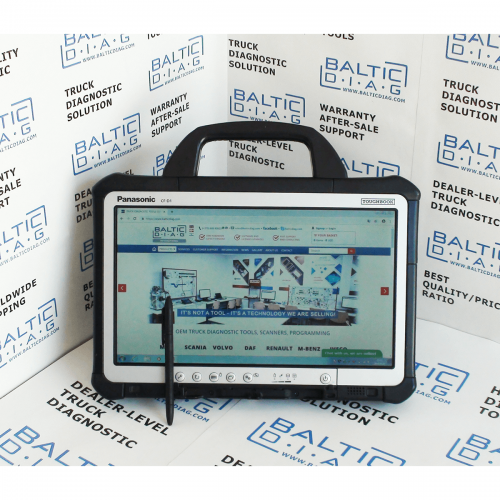 JALTEST MARINE DIAGNOSTIC TOOL with BALTICDIAG Rugged Laptop