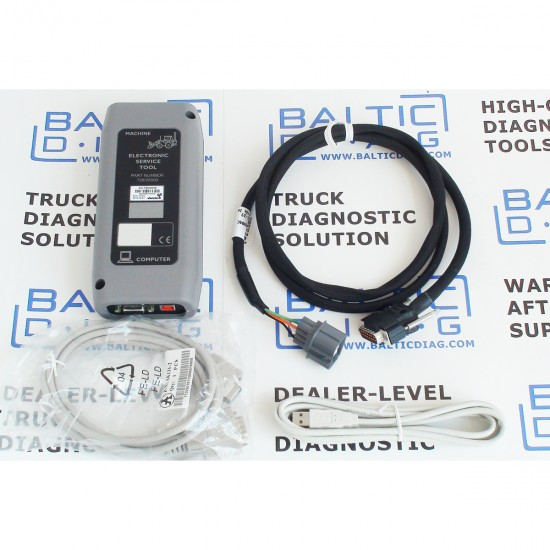JCB ELECTRONIC SERVICE DIAGNOSTIC TOOL (LAPTOP INCL.)