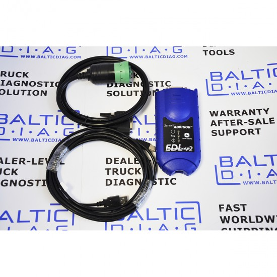 JOHN DEERE DIAGNOSTIC SOLUTION EDL V2 (LAPTOP INCL.)