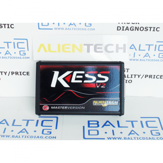 GENUINE ALIENTECH KESS V2 MASTER WITH TRUCK OBD PROTOCOLS