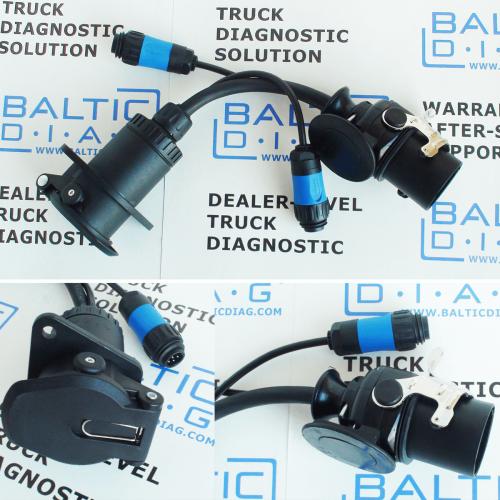 KNORR-BREMSE TRUCK DIAGNOSTIC FOR BRAKES (LAPTOP INCL.)