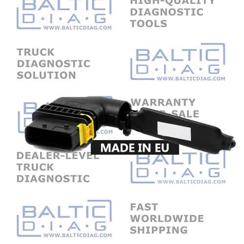 MAN EURO 6   SCR and NOx Adblue emulator