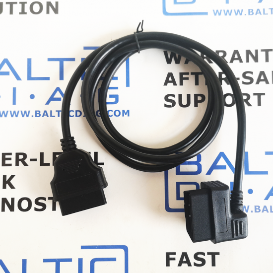 OBD2 Diagnostic Cable Extension Male to Female 150 cm