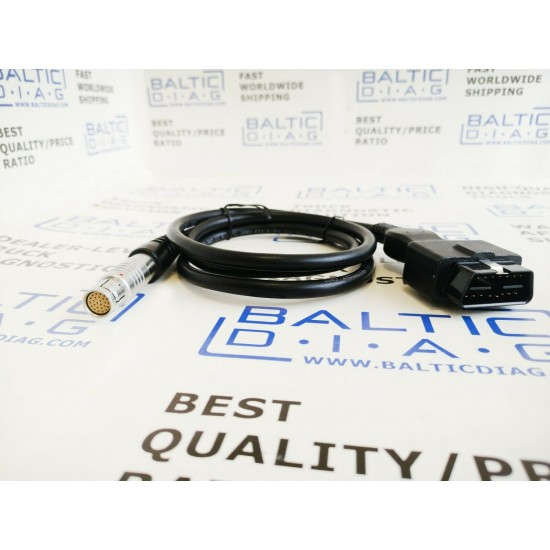 DAF/PACCAR OBD2 cable for VCI-560 MUX