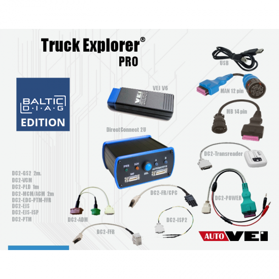 TRUCK EXPLORER PRO20 KIT | BALTICDIAG EDITION
