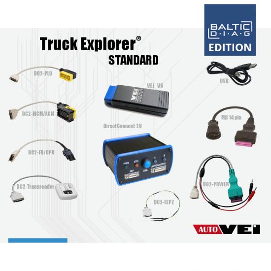 TRUCK EXPLORER STANDARD KIT | BALTICDIAG EDITION