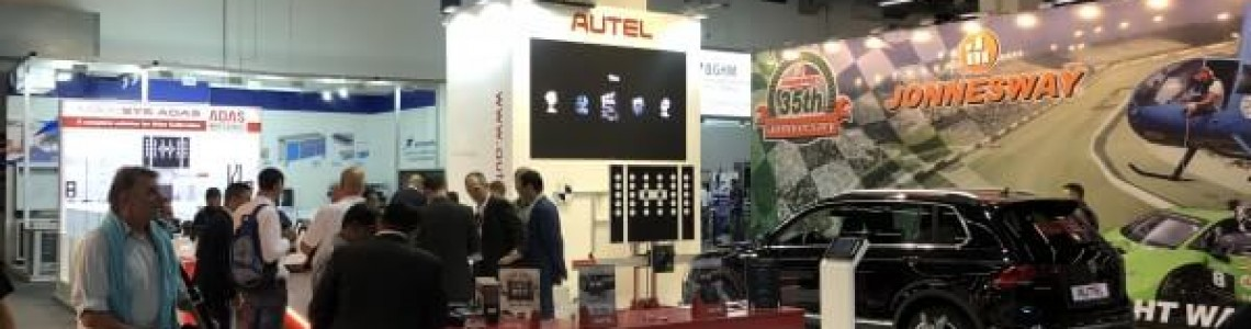 WE ATTENDED THE WORLD'S LARGEST AUTOMOTIVE INDUSTRY EXHIBITION IN FRANKFURT