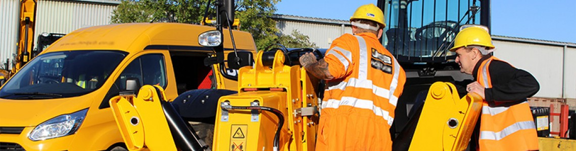 Dealer-level Diagnostic Tool for Heavy Equipment Field Service