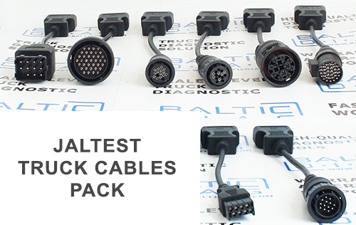 jaltest cable set for trucks and bus