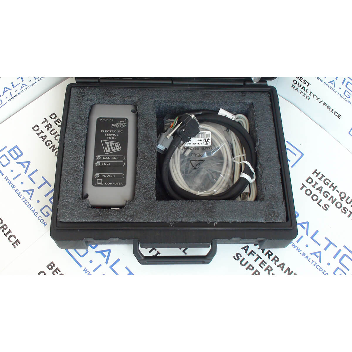 Full kit includes service manuals and service parts catalog • Newest  database and latest firmware solution in the market
