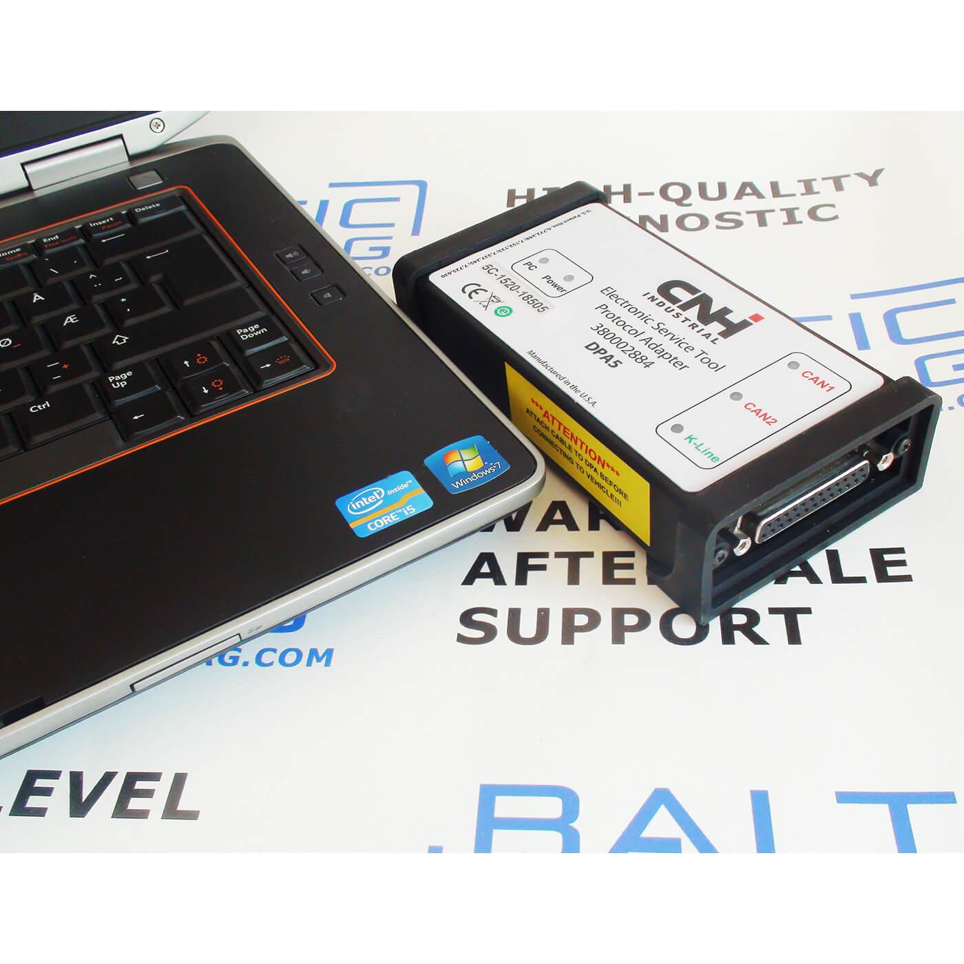 f0cad243f9be Genuine CNH Diagnostic Kit DPA5 EST 9.0 (2019) (Laptop incl.)