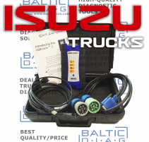 Isuzu Truck Diagnostic Service System 2019 (Laptop incl.)