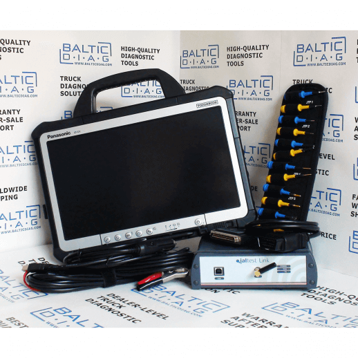 Jaltest Off-Highway (OHW) Diagnostic Set with Tablet PC