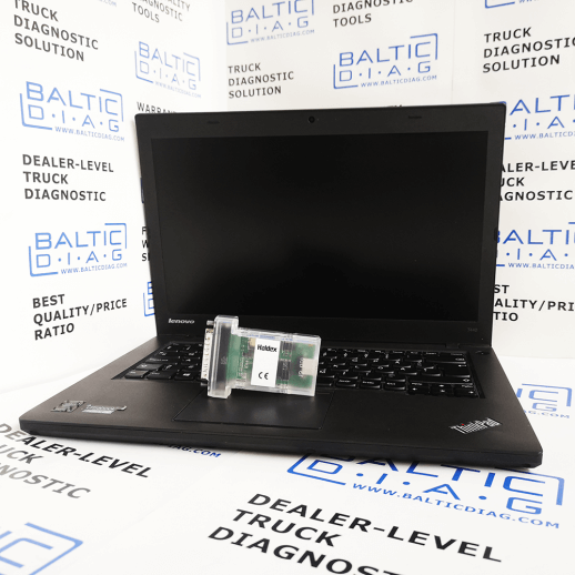 HALDEX ABS DIAGNOSTIC Scanner DIAG+ (Laptop incl )